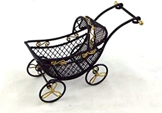 large wire baby carriage