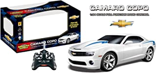 white camaro toy car