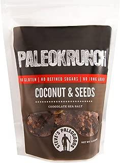 Steve's PaleoGoods, PaleoKrunch Cereal Nut-Free Coconut & Seeds Chocolate Sea Salt, 7.5oz (Pack of 3)
