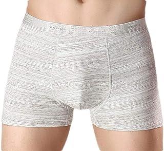 Macondoo Men Cotton 2-Pack Underwear No Trace Breathable Boxer Briefs