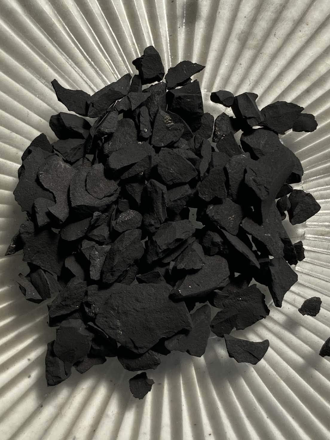 Shungite - Medium Chips Ranking TOP2 no 100% Over item handling ☆ Crystal Clea Powder Life+Love