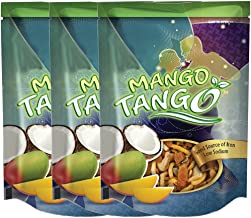 Mango Tango - 3 Pack, 4.5oz SUR bags | Sweet & Salty Snack Mix | Mango, Coconut Toffee Peanuts, Pumpkin Seeds, Cashews, Sweet Chili and Lime Noodles