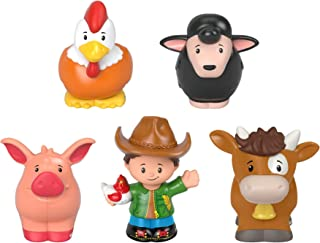 Fisher-Price Little People Farmer & Animals - Figura decorativa para agricultor y animales
