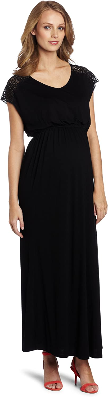 Everly Grey Women's Maternity Abbey Maxi Dress