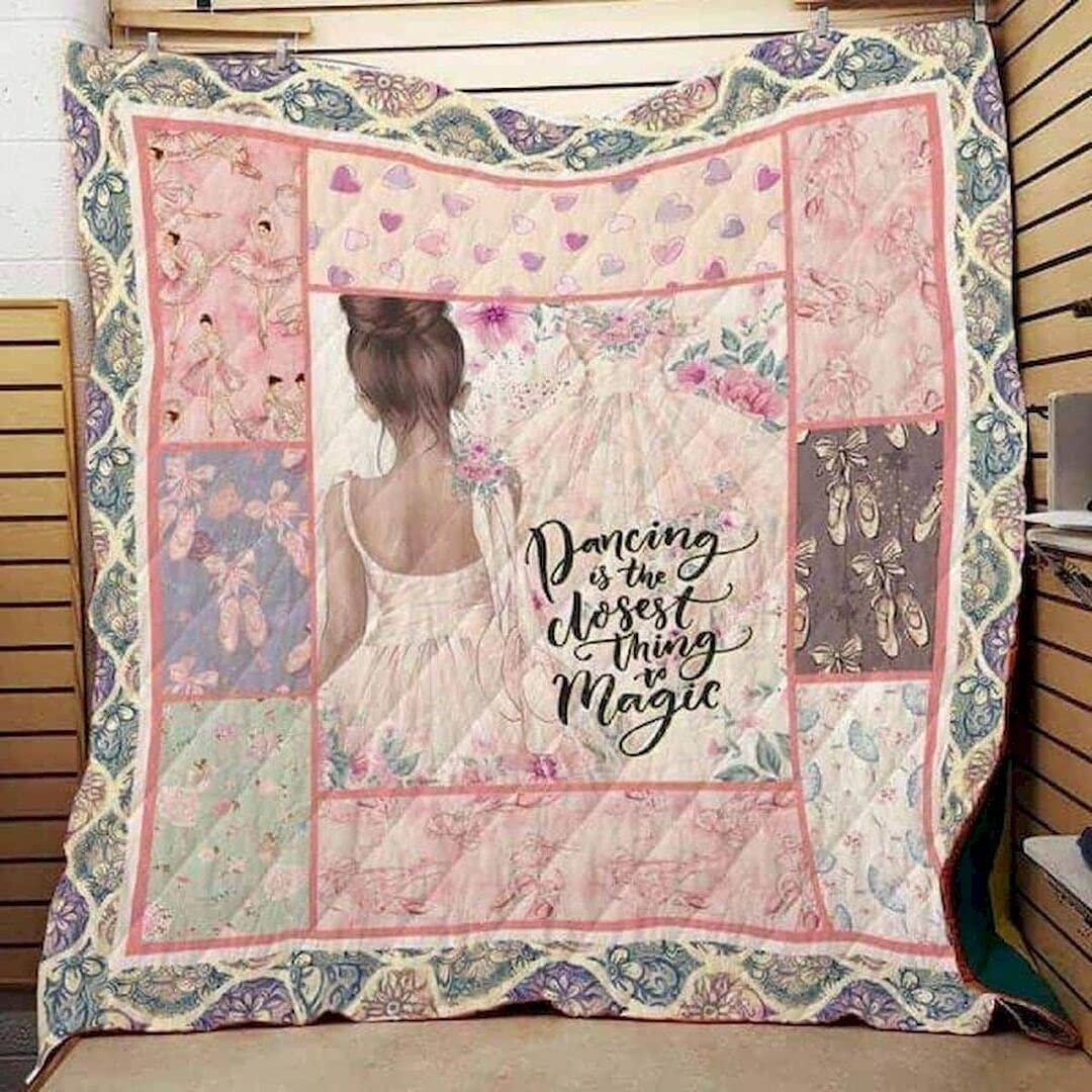 Personalized Set Up Your Life LTR Ballet Bir In stock - New life Quilt