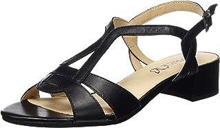 32b4be9925b85 CAPRICE Women's Carla Ankle Strap Sandals
