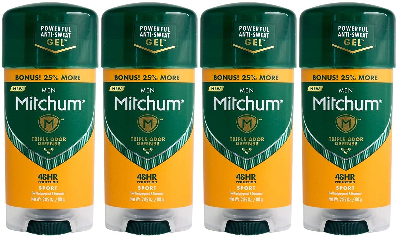 Mitchum Regular dealer for Men Triple Odor Deodorant Defense Online limited product Gel Antiperspirant