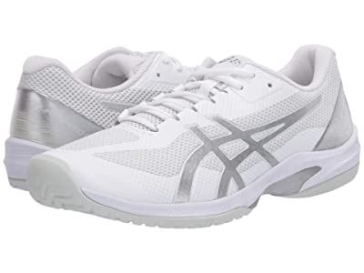 ASICS Court Speed FF (White/Pure Silver) Men