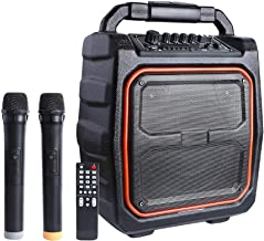 PA System-MAONO 30W Rated Power Wireless PA system with Two Wireless Microphones Karaoke..