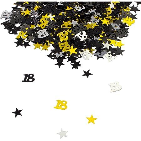 Geburtstag Luftschlangen zum 13 zum Aufh/ängen Geburtstags-Swirl-Set Dekorationsset f/ür Teenager mit 13 Jahren goldene Wirbel