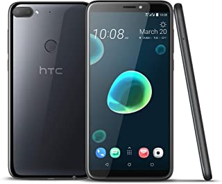 HTC Desire 12+ Dual SIM - 32GB, 3GB RAM, 4G LTE, Cool Black