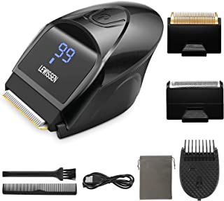 Lewissen Self-Haircut Hair Clippers, Cordless Electric Hair Trimmer Men Head Clippers, 2 Cutting Heads, 4-in-1 Limit Comb,...
