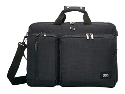 Solo New York Duane Hybrid Briefcase (Slate) Briefcase Bags