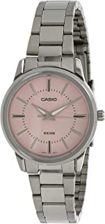 CASIO METAL FASHION WATCH FOR LADIES LTP-1303D-4AV, Analog