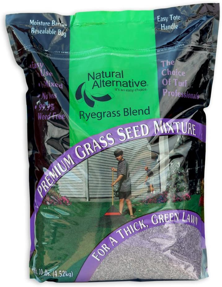 Natural Alternative Grass Seed - for Hardy Clearance SALE Limited time Tri-Rye La sale
