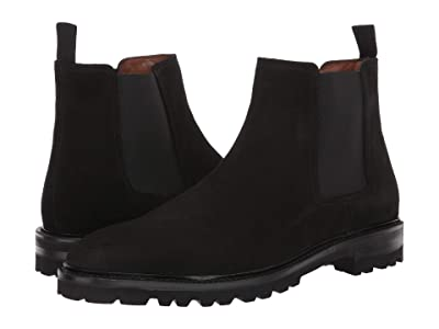 Aquatalia Leighton (Black Suede) Men