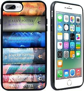 VONDER for iPhone 7 Plus Case,iPhone 8 Plus Case, Harry Potter Books Silicone Rubber Case Cover for iPhone 7 Plus / 8 Plus