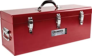 "Roberts 10-161-LE 24"" Steel Tool Box, Red"