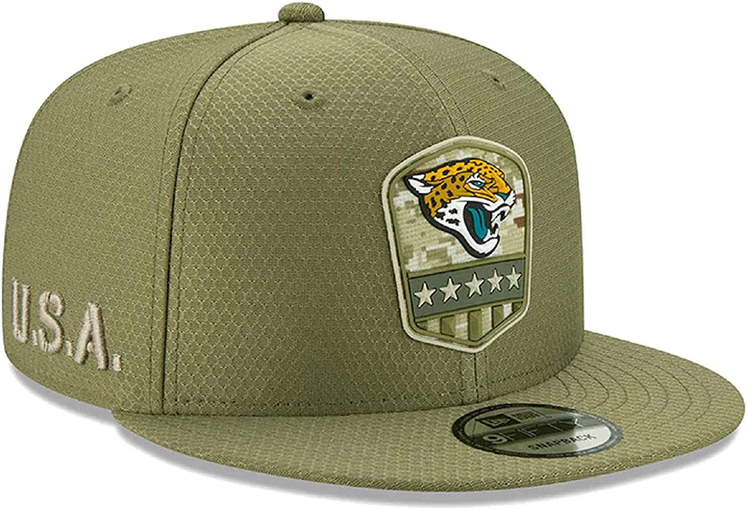 New Era Men's Salute to Service 19 9Fifty Snapback Adjustable Cap Hat: One Size Fit Most