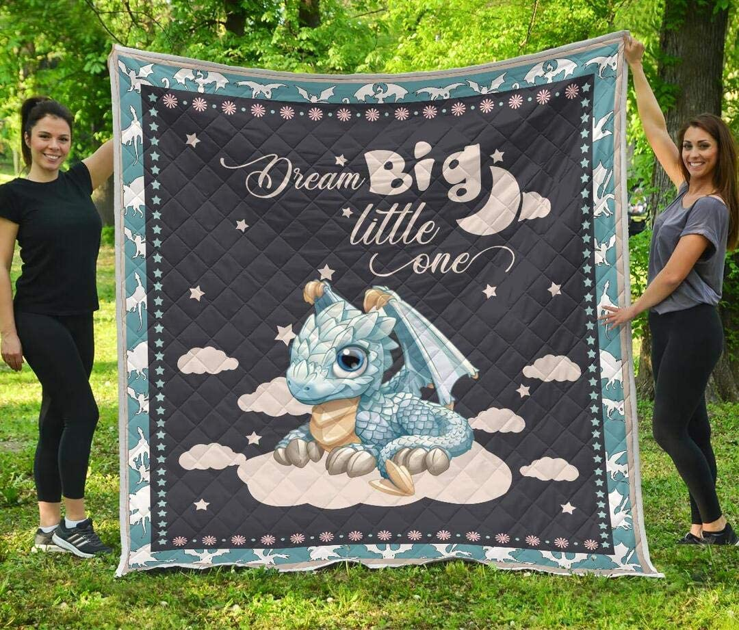 Personalized New York Mall OFFicial site Dragon Quilt Patrick's Day Gift to Birthday