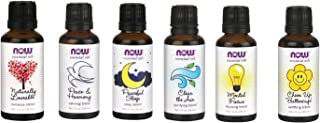 A Complete Set of Blend Oils From Now Foods (6) - Romance, Peace, Sleep, Clear the Air, Mental Focus and Cheer up Buttercup