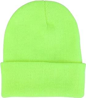 Bestgift Women's Unisex Winter Daily Cuff-Beanie Knit Skull Cap