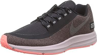 Nike Women's Zoom Winflo 5 Run Shield Athletic Shoe AO1573 200 Smokey Mauve/Metallic Silver