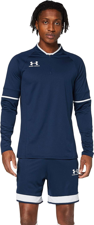 Under Armour Challenger III Midlayer, camiseta de hombre para hacer deporte, indispensable ropa de deportes hombre