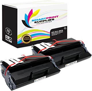Smart Print Supplies Compatible 12A7305 MICR Black High Yield Toner Cartridge Replacement for Lexmark E321 E323 Printers (6,000 Pages) - 2 Pack
