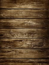 AOFOTO 3x5ft Old Wood Plank Backdrop Grunge Wooden Board Photo Shoot Background Vintage Weathered Hardwood Fence Panels Photography Studio Props Kid Child Baby Boy Girl Portrait Video Drop Wallpaper