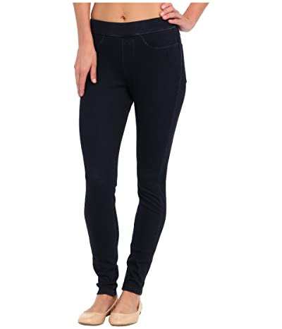 HUE Curvy Fit Jeans Leggings (Midnight Rinse) Women
