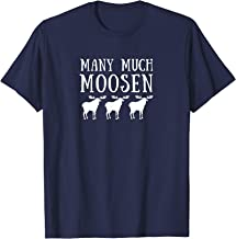 Many Much Moosen Funny Grammar Shirt