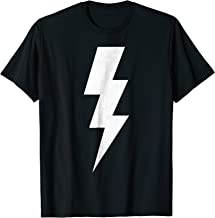 Electricity Power with Lightning Sign t shirt