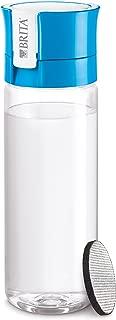 ブリタ 水筒 直飲み 600ml 携帯用 浄水器 ボトル カートリッジ 1個付き フィル&ゴー ブルー 【日本仕様・日本正規品】