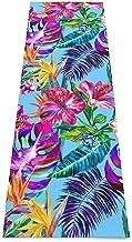 Groen Paars & Blauw Galaxy Yoga Mat, Gedrukte Antislip Yoga Matten Oefening & Fitness Mat voorGeschikt voor yoga, Pilates,...