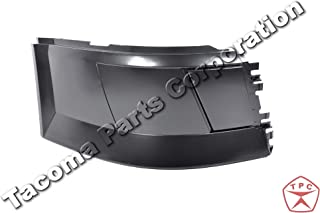 Volvo Truck Bumper Corner Extension Without Fog light Hole Right (Passenger) Side 2004-2015