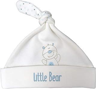 For Babies For Babies - Bio-Baumwolle Baby Neugeborene Mütze mit Knoten - Mädchen und Jungen - Erstlingsmütze - 100% organic cotton - Made in EU kleiner Bär, 0-3 Monate