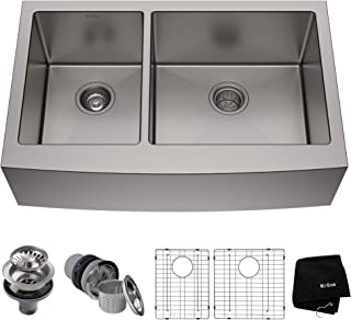 Kraus KHF204-33 Standart PRO Kitchen Stainless Steel Sink, 32.88