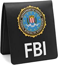 Fashion Creative Hand Making FBI Style Bifold Wallet Purse