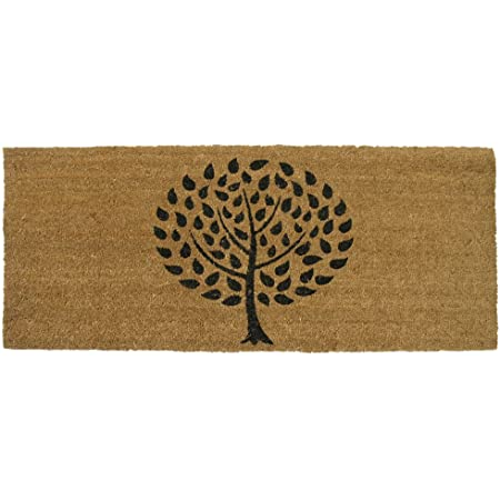 """Rubber-Cal """"Modern Landscape Contemporary Doormat, 24 by 57-Inch"""