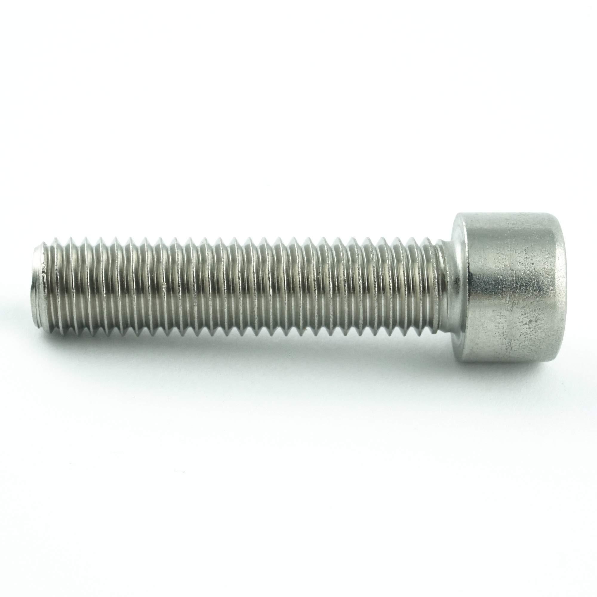 20 St/ück Zylinderschrauben mit Innensechskant M1,6 x 12 mm Gewindeschrauben DIN 912 Edelstahl A2 V2A- rostfrei - Zylinderkopf Schrauben ISO 4762 Eisenwaren2000