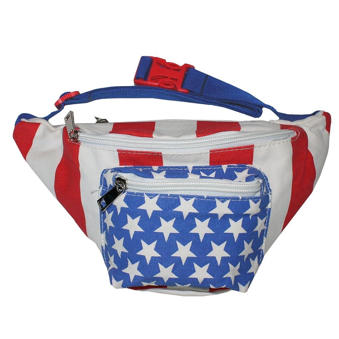 X80 American Flag Fanny Pack