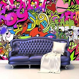 MGQSS 3D Fondo de pantalla Autoadhesivo Mural Graffiti Póster Antecedentes Foto Fondo de pantalla Arte Inicio Decoracion Niño Caricatura Habitacion Niño Chica Dormitorio Personaje (W)200x(H)150cm