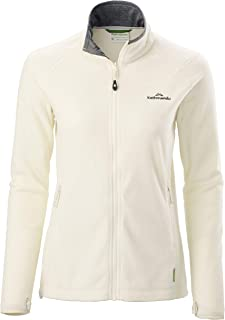 Kathmandu Trailhead Women's High Collar Full Zip Warm Outdoor Fleece Jacket