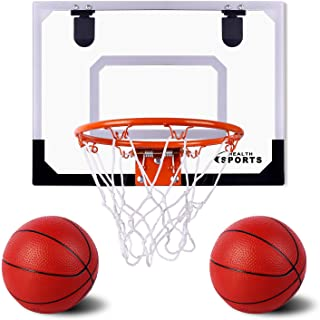 AOKESI Indoor Mini Basketball Hoop and Balls 17.8
