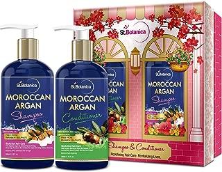 StBotanica Moroccan Argan Hair Shampoo + Argan Hair Conditioner, 300ml