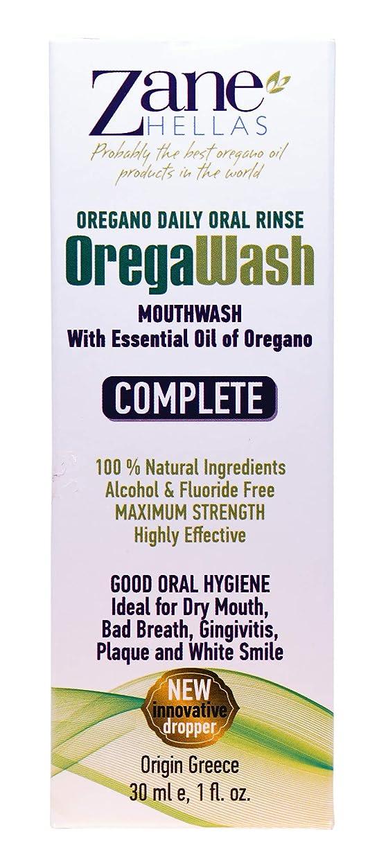 信頼できる葉巻振る舞いOREGAWASH. Total MOUTHWASH. Daily Oral Rinse. 1 fl. Oz. - 30ml. Helps on Gingivitis, Plaque, Dry Mouth, Bad Breath & Throat infection. Gives Fresh Breath. Natural Antibacterial & Antiseptic Mouthwash. by ZANE HELLAS