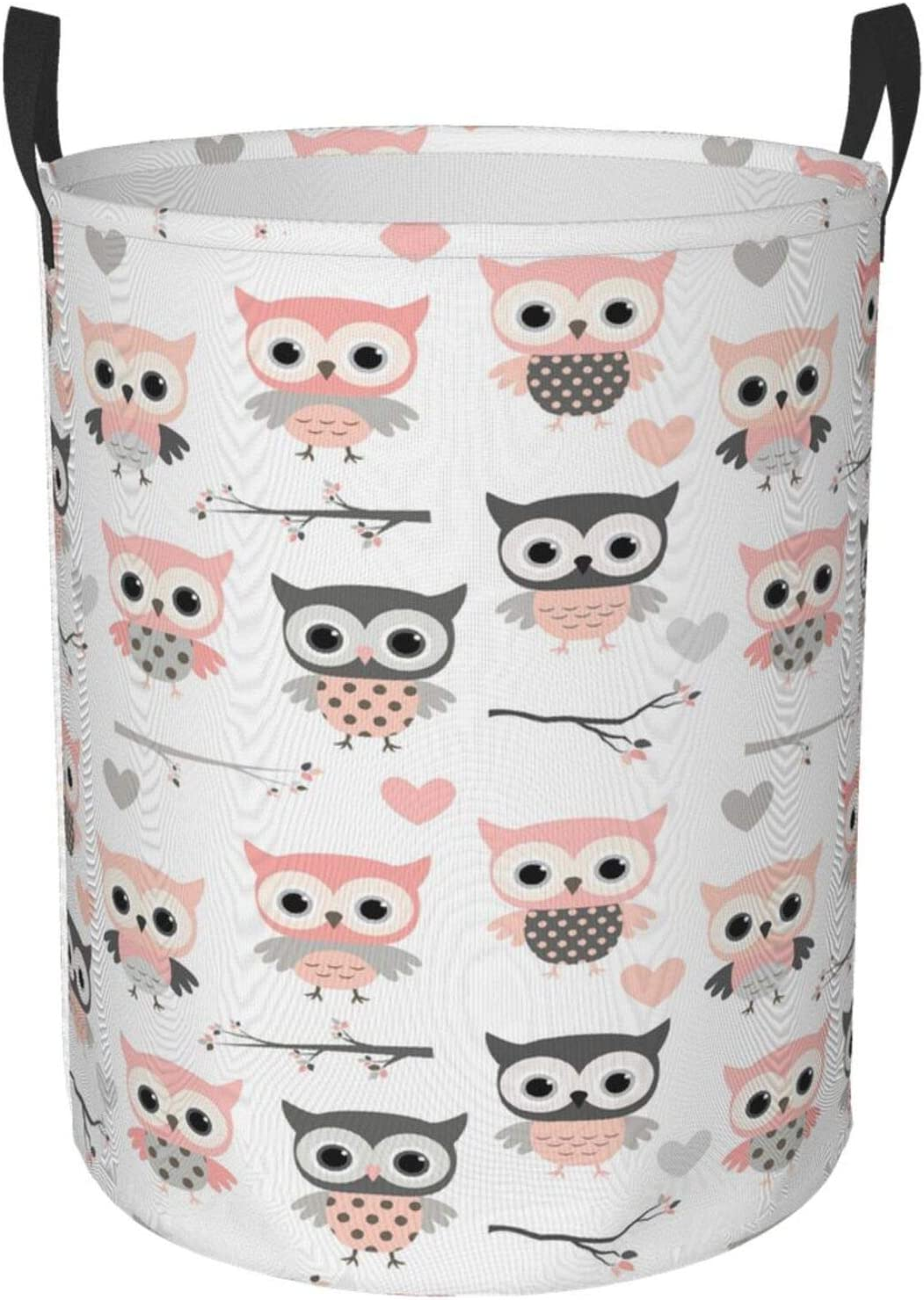 Foruidea Owl Laundry Basket low-pricing Free shipping anywhere in the nation Storage Hamper B Collapsible