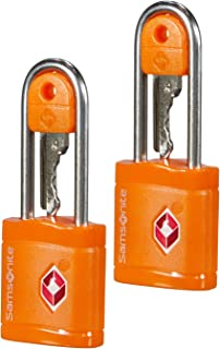 Samsonite Global Travel Accessories TSA Key Luggage Lock 2X, 6 cm, Orange