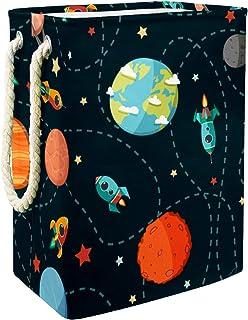Planète Rocket Star Stockage de Jouets pour bébé Panier de Rangement imperméable Pliable de Jouets de Jouets de Panier ave...